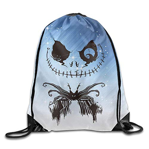 fhjhfgjghfjghfj GYM Jack Flower Face Drawstring Backpack Tasche Flower Sugar Collection