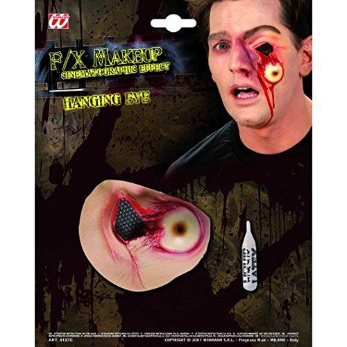 Falsche Halloween Wunde ausgerissenes Auge für (Make Schwarz Auge Halloween Up)