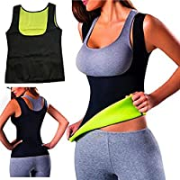 Women Hot Sweat Body Shaper Tank Thermo Yoga Sauna Neoprene Vest Fat Burner Slimming Waist Shaper Trainer Cincher
