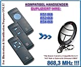 Kompatibel mit HS1, HS2, HS4 868,3MHz Handsender, Ersatz, klone ( NOT MADE BY HÖRMANN )
