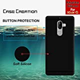 Back Cover For 10.or G, Case Creation (TM) 0.3mm Ultra Clear Thin Soft Silicone TPU Silicone Flexible Black Silicone Back Case Cover For 10.or (Tenor) G / 10.or G / 10.orG (5.5-inch) 2017 (Vintage Black Print)