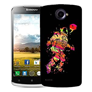 Snoogg Astronaut Designer Protective Back Case Cover For LENOVO S920