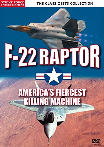 Classic-Jets-Collection-F-22-Raptor-Americas-Fiercest-Killing-Machine-DVD-NTSC