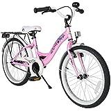 BIKESTAR® Premium Kinderfahrrad für sichere und sorgenfreie Spielfreude ab 6 Jahren ★ 20er Classic Edition ★ Märchenhaft Pink