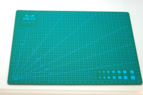 Olax A4 Schneidematte, Selbstheilung, Messerbrett für Handwerk, 3mm Dick, 5 Schichten