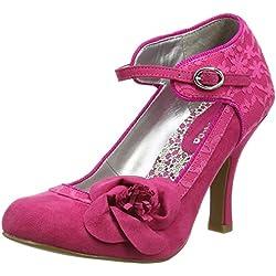 Ruby Shoo Anna, Damen Pumps , Pink - Pink (Fuchsia), Gr. 36 EU (3 UK)