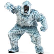 Limit Sport - Disfraz de peluche gorila para adultos, color azul claro, talla M (MA067A)