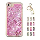Kawaii-Shop Coque iPhone XS Max Glitter Liquide, Cute Cherry Blossom TPU Silicone...