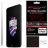 TECHGEAR [3 Pack] Protection d'Écran pour OnePlus 5, Film de Protection Ultra Clair...