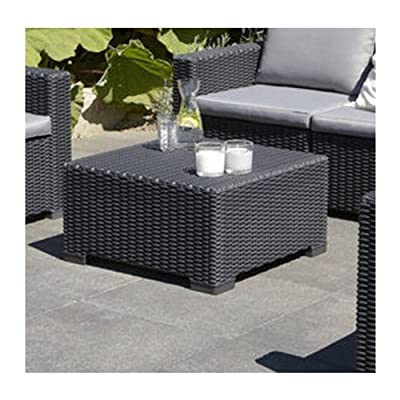 California Square Coffee Table Colour: Graphite Grey