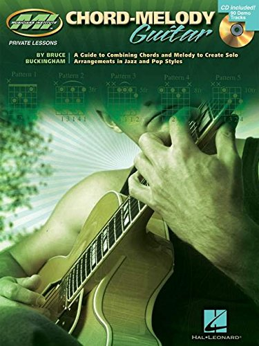 Chord-Melody Guitar: Private Lessons Series [With CD] (Book & CD)