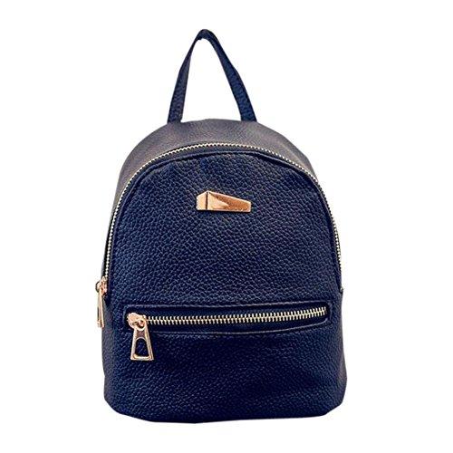 Tefamore-Las-estudiantes-de-marea-de-la-manera-ocasional-hombro-bolsa-mochila-Negro