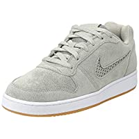 Nike Ebernon Low Prem, Women's Sneakers, Multicolour (Spruce Fog/Spruce Fog/Black 300), 8 UK (39 EU) ,NKAQ2232