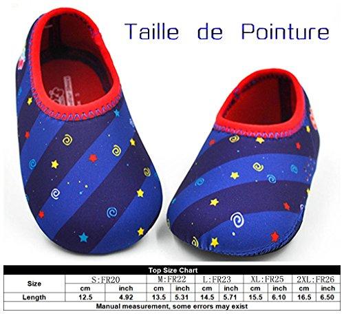 Mädchen Baby's Large amp; Choice Babyschuhe Blau Puschen Krabbelschuhe 7wSwqnRF