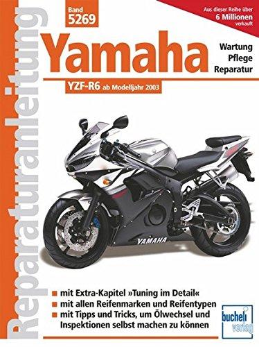 Yamaha YZF-R6 (Reparaturanleitungen) -