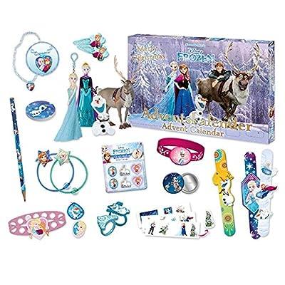 Craze 52083–Calendario de Adviento Walt Disney La reina de hielo–Frozen por Craze