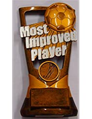 """7.0"""" MOST IMPROVED PLAYER FOOTBALL AWARD TROPHY With FREE Engraving up to 30 Letters Letters"""