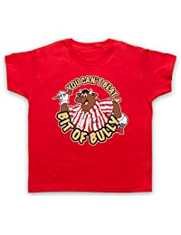 Inspired by Bullseye You Can't Beat A Bit of Bully Unofficial Kids T-Shirt
