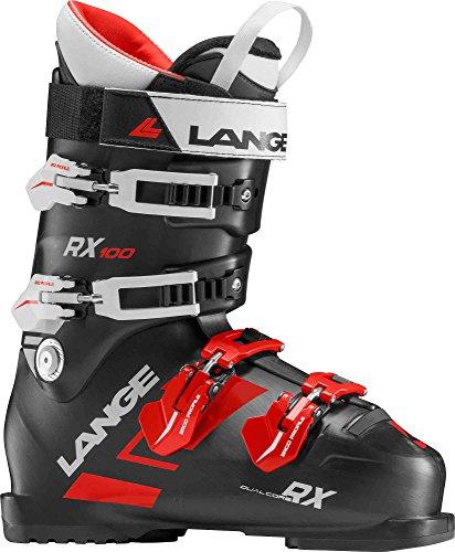Lange RX 100 Herren Skischuhe, Schwarz/Rot, Herren, LBG2100_29.5, schwarz/rot, 29.5 -