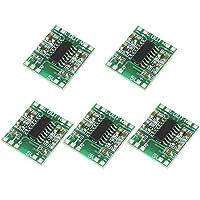 Power Amplifier,Akozon 5pcs Super Small 3W+3W Type D PAM8403 Digital Audio Amplifier Power Amp Module
