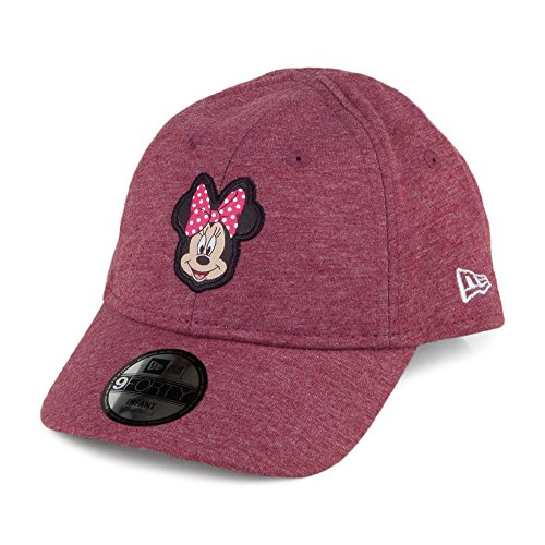f66f235e8c55 New Era Casquette Bébé 9FORTY Character Jersey Minnie Mouse Rouge chiné  Nourrisson - Taille Unique