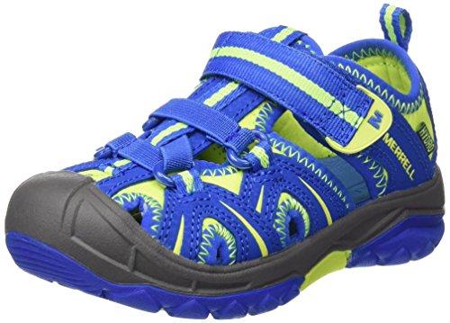 Merrell Jungen Hydro Aqua Schuhe, Mehrfarbig (Blue/Citron), 32 EU