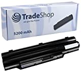 TradeShop Akku 5200mAh 10,8V/11,1V für Fujitsu-Siemens Lifebook A530 A531 A512 AH530 LH52 LH522 LH701 LH701A A512 AH512 A532 AH42/E PH-50 PH-521 ersetzt FPCBP250 FPCBP277 FMVNBP189