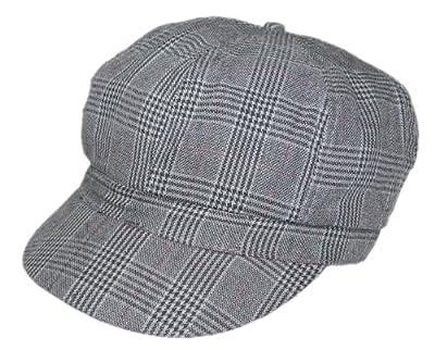 Ballonmütze für Damen klassich Karriert (PT-7947) - inkl. EveryHead-Hutfibel