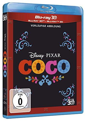 Coco (3D+2D BD + Bonus Disc) [Blu-ray]