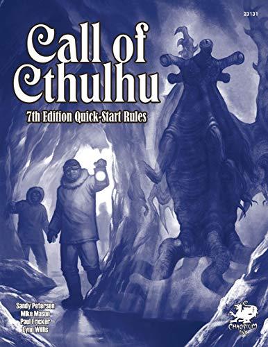 Call of Cthulhu 7th Ed. QuickStart por Sandy Petersen