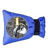 2 Stück Außen Wasserhahn Hülle Schutz,Wintergarten-Hahn-Abdeckungs-Hahn-Frostschutz für Frostschutz und kalten Schutz