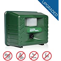 Ahuyentador Ultrasonico de plagas 1500m2, Ahuyenta de Animales, Gatos y Perros Repelente Ultrasonico YARD SENTINEL Repelente para Ratas