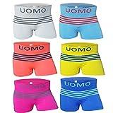 6-12 Stück Jungen Unterhosen Boxershorts Unterwäsche Kinder (6/8, Modell 5 - 6 Stück)