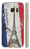 Samsung Galaxy A20e A202F Hülle Handyhülle Silikon Backcover Schutzhülle Soft Case Cover TPU mit Motiv 1178 Paris Eifelturm Frankreich Hülle für Samsung Galaxy A20e A202F