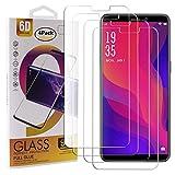 Guran 4 Paquete Cristal Templado Protector de Pantalla para Vernee X2 (2019) Smartphone 9H Dureza Anti-Ara?azos Alta Definicion Transparente Película