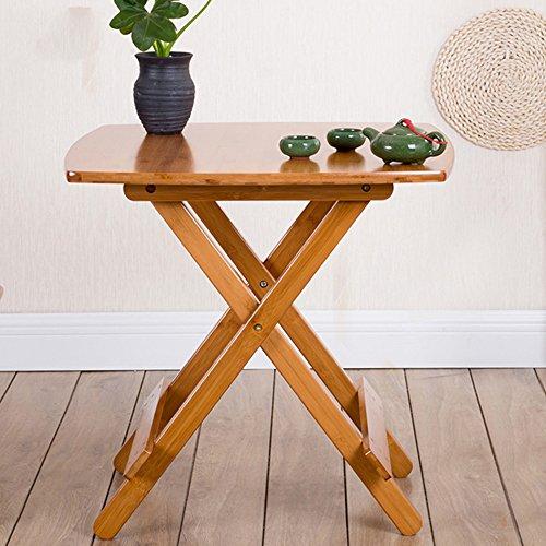 FEIFEI Portable Klapptisch, Esstisch, Picknicktisch, Freizeit im Freien Tabelle 60 * 60 * 60cm Platz sparen (Klapptisch Portable)