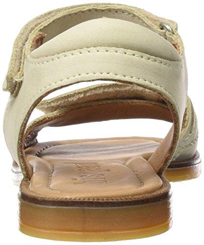 Bisgaard Sandals, Sandales ouvertes fille Beige (44 Creme)