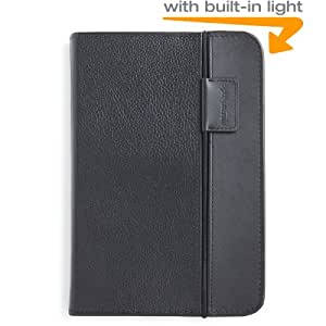 Amazon Kindle Keyboard Lighted Leather Case (3rd Generation - 2010 release), Black