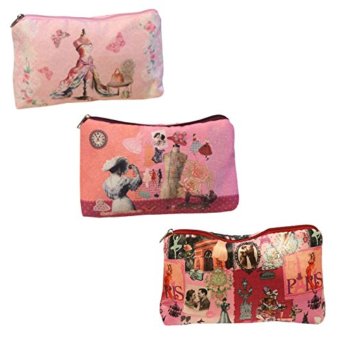 TROUSSE DE TOILETTE PARIS MODE RETRO