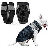 Winterjacke für Hunde und Katzen, warm, weich, leicht, wasserdicht, gepolstert, Weste, Harnisch, warme Winterkleidung für kleine bis große Hunde