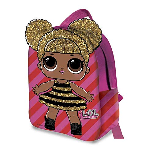 zaino LOL Surprise 2D Queen Bee Bambina Asilo Borsa Scuola Tempo Libero - B99936MC