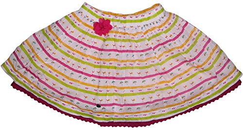 FS Mini Klub Girls' Cotton Skirt (88KGBSK0620 LTPINK, Pink, 5 - 6 Years)  available at amazon for Rs.239