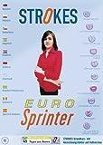 Strokes, CD-ROMs : EURO-Sprinter, 1 CD-ROM Englisch, Spanisch, Französisch, Italienisch, Russisch,...