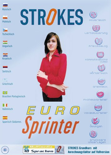 EURO-Sprinter, 1 CD-ROMEnglisch, Spanisch, Französisch, Italienisch, Russisch, Polnisch,...