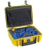 B&W Outdoor Cases Typ 1000 mit FEIYU G3/G4/G4S Inlay, gelb - Das Original