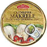 Dovgan Makrele in Öl und eigenem Saft, 8er Pack (8 x 240 g)