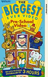The Biggest Ever Pre-School Video 2 [VHS]