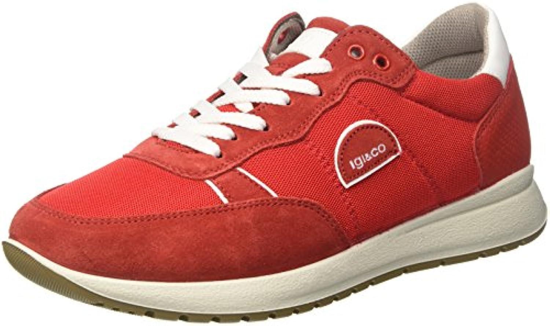 IGICo Herren Uad 11203 Hohe Sneaker  Rot