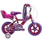 Sonic Glitz Girls' Bike - Purple/Cerise, 12 Inch