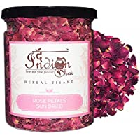 The Indian Chai Sun Dried Rose Petals, 50g (TICRP50)